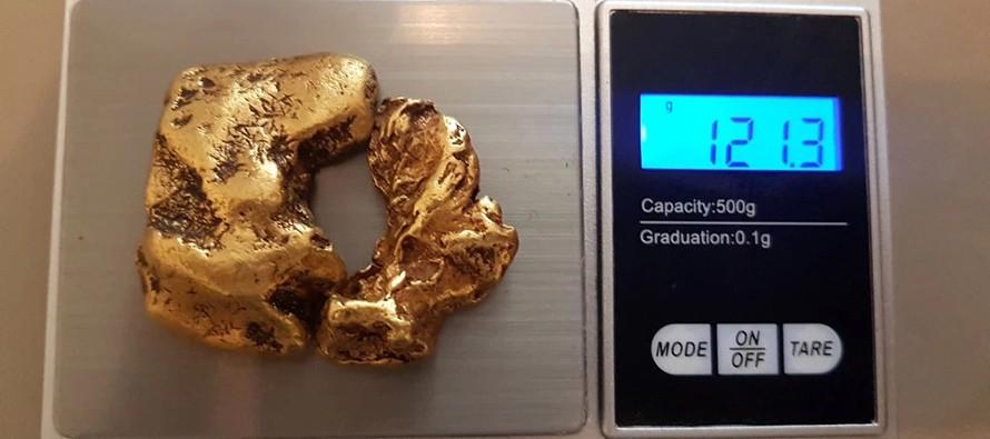 Złoty samorodek wart £80 000 odnaleziony na dnie rzeki!