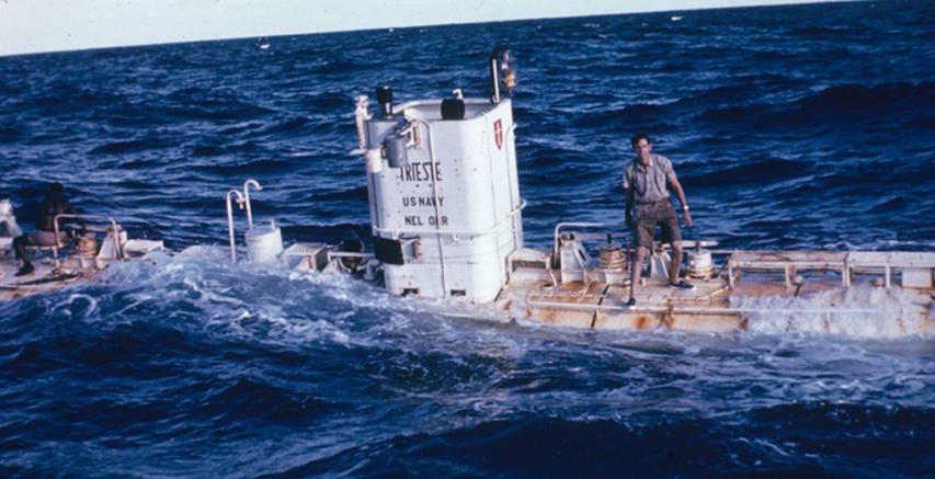 Pierwszy batyskaf w najgłębszym miejscu na Ziemi