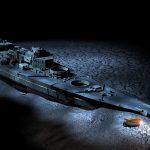 wrak okrętu Bismarck