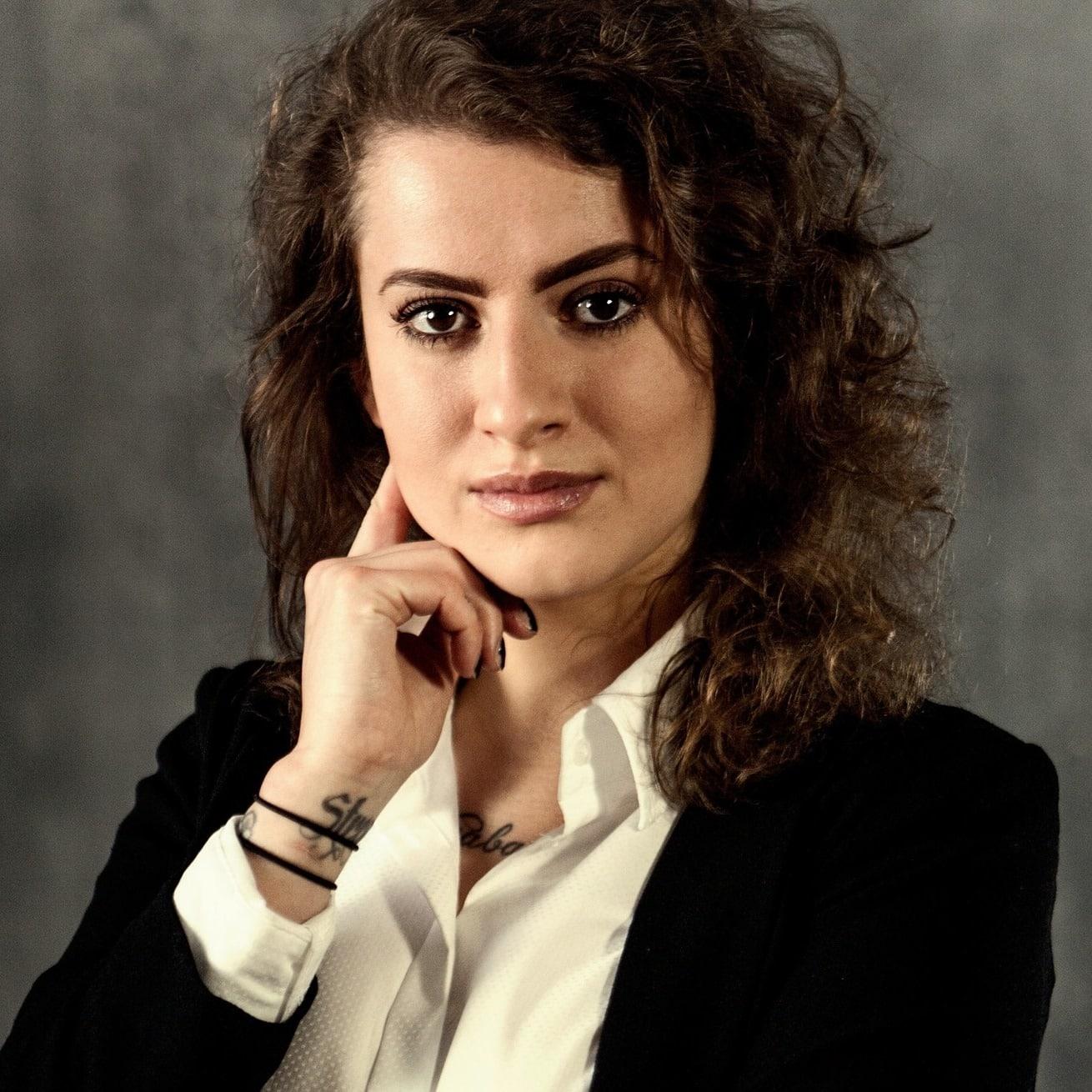 Julia Lachovska nurek