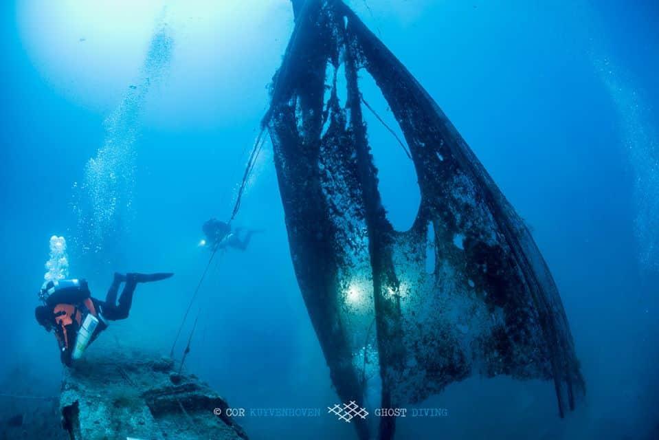 sieci-widma wrak HMS Perseus divers24.pl