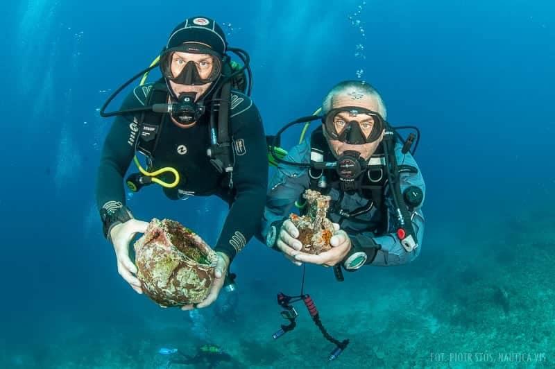 antyczne artefakty odnalezione w Chorwacji divers24.pl