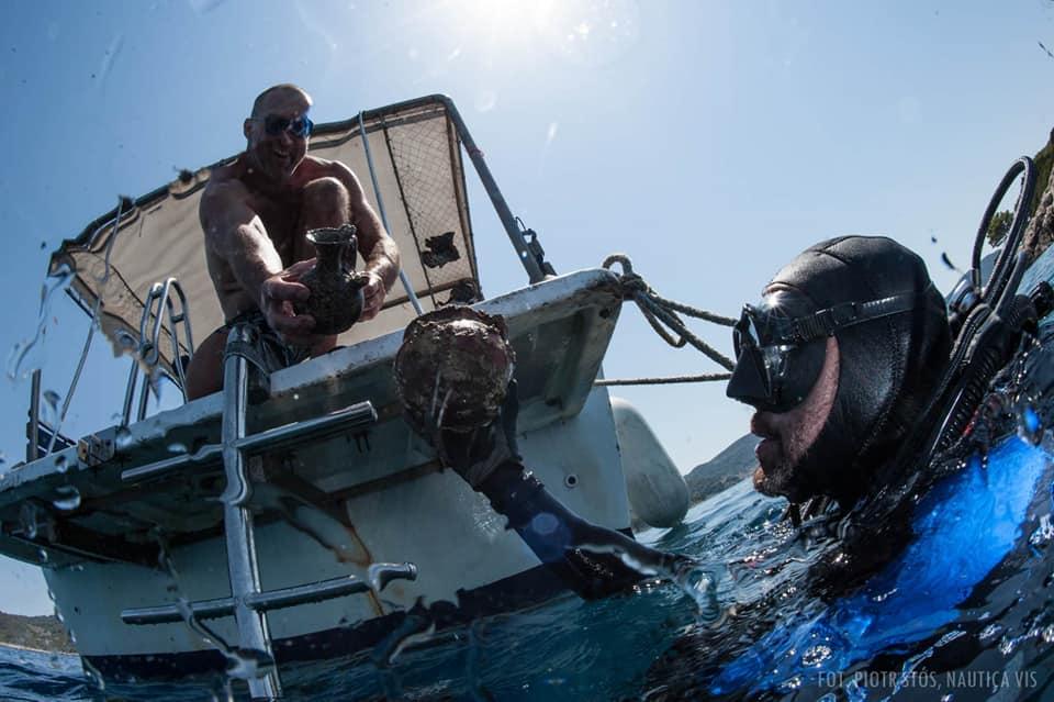 antyczne przedmioty wydobyte z dna Adriatyku divers24.pl
