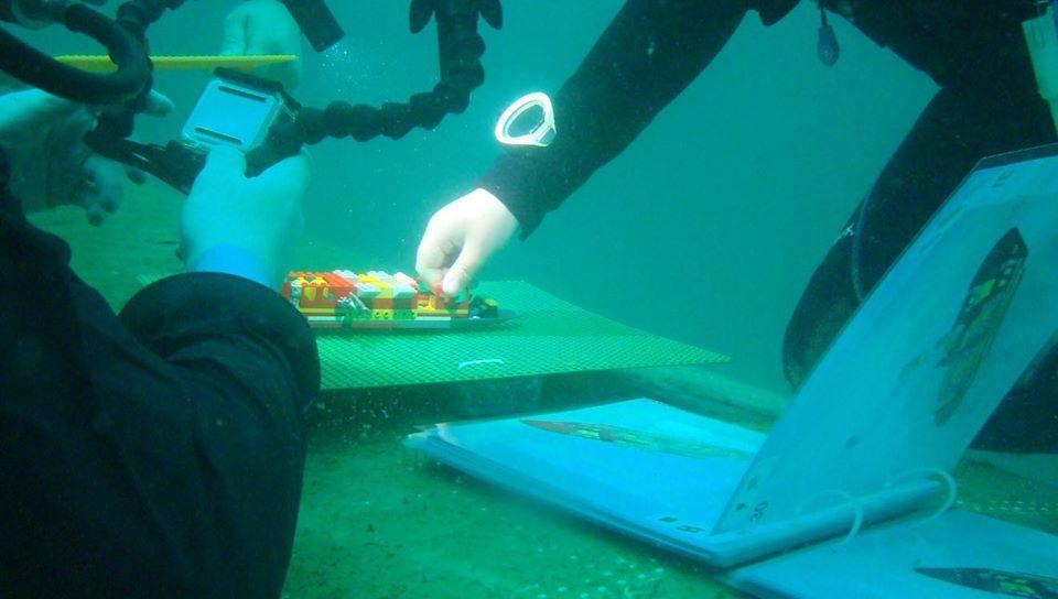 Scuba Sophie nurkowanie LEGO divers24.pl