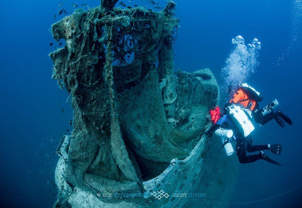 Wrak HMS Perseus Kefalonia divers24.pl