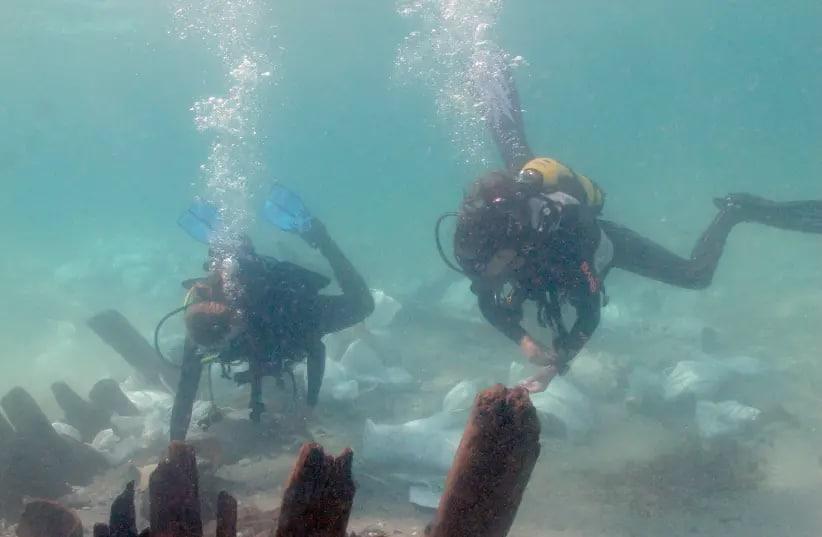 Izrael badanie wraku z VII wieku divers24.pl