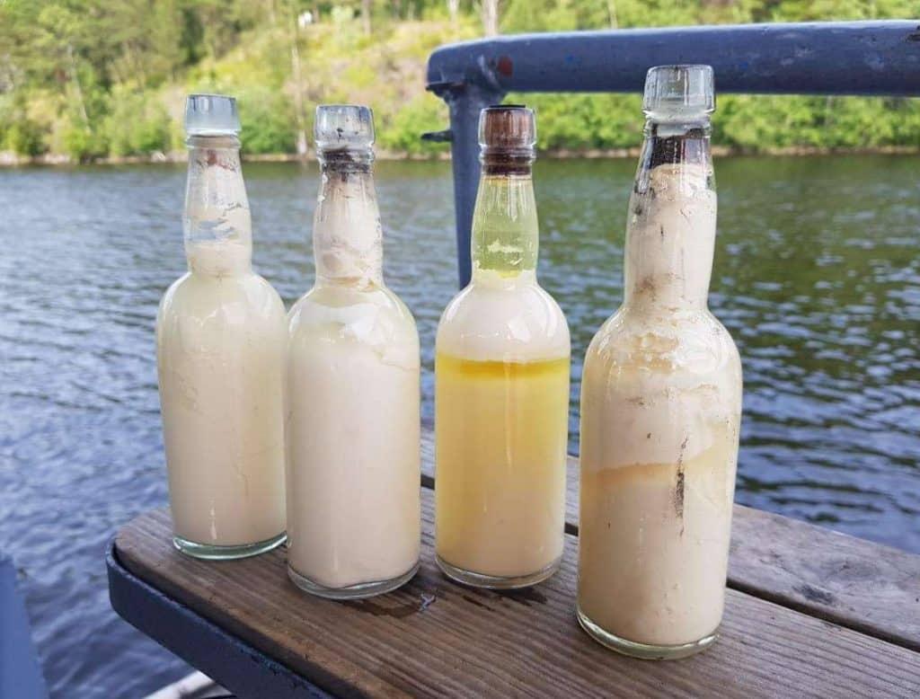 80-letnie mleko wydobyte z wraku divers24.pl