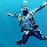 suchy skafander Shark Dive gear nurek w wodzie divers24.pl