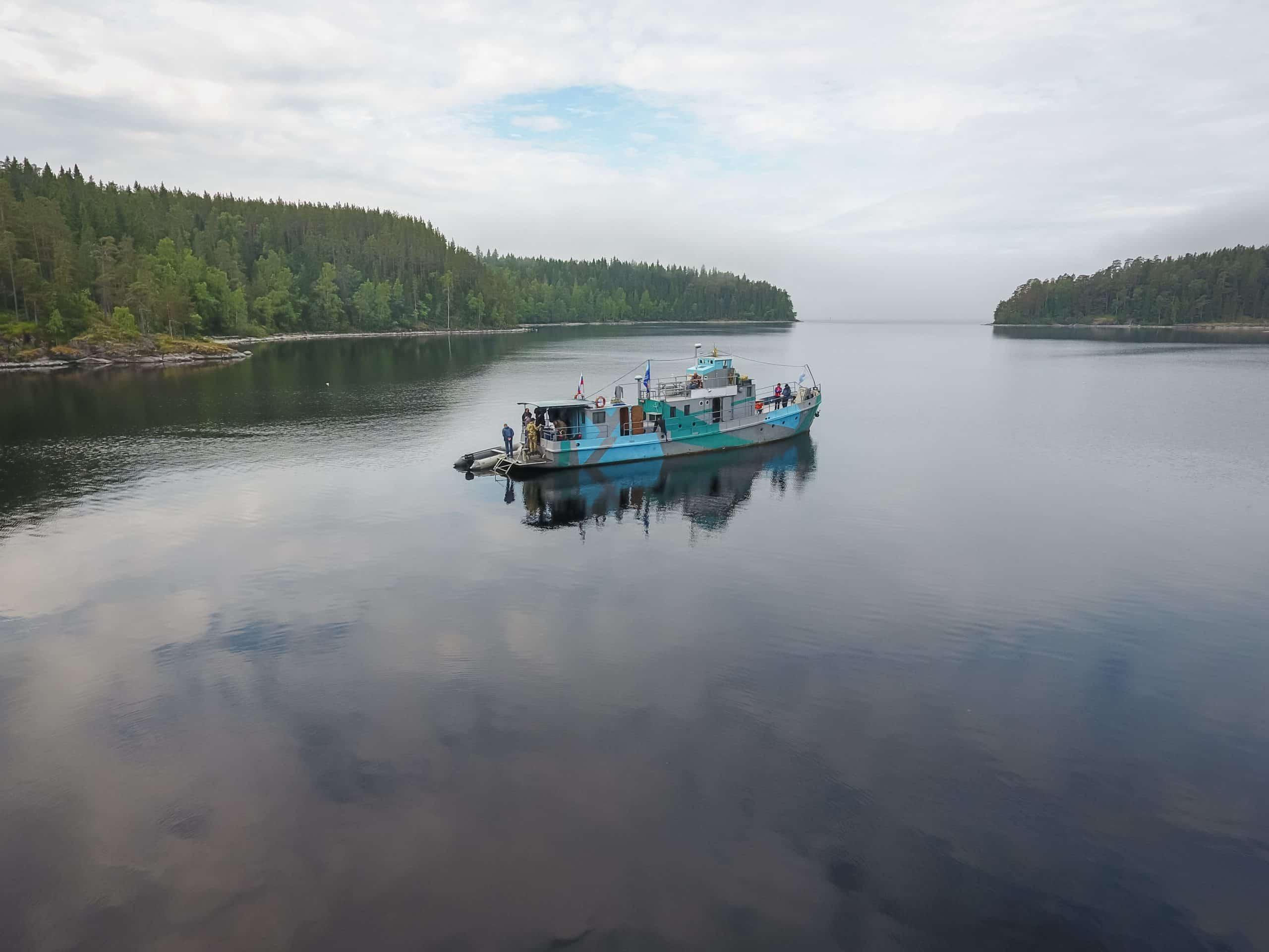 jednostka badawcza jezioro ładoga divers24.pl