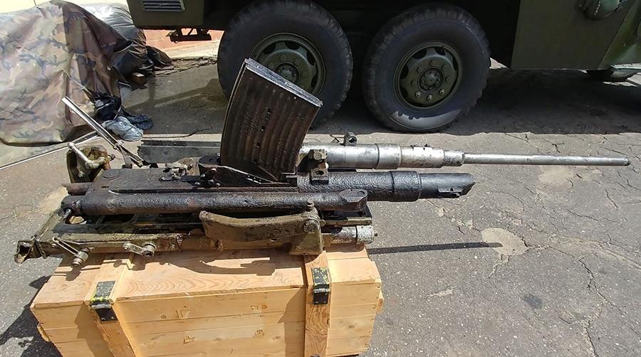 Odrestaurowane działo przeciwlotnicze 2,0 Cm Flak C38 Muzeum Oręża Polskiego W Kołobrzegu Divers24.pl