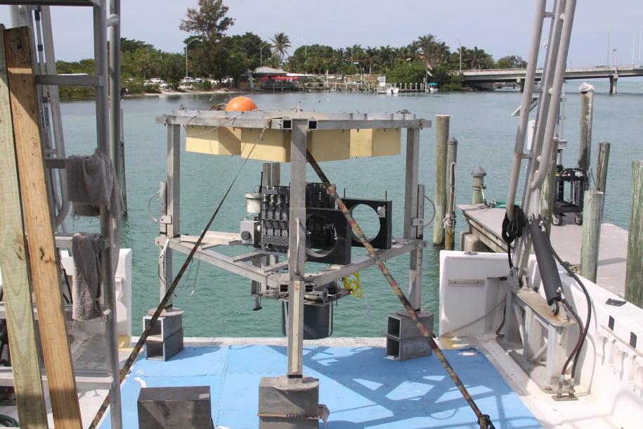 Stalowa rama do badań podwodnych NOAA divers24.pl