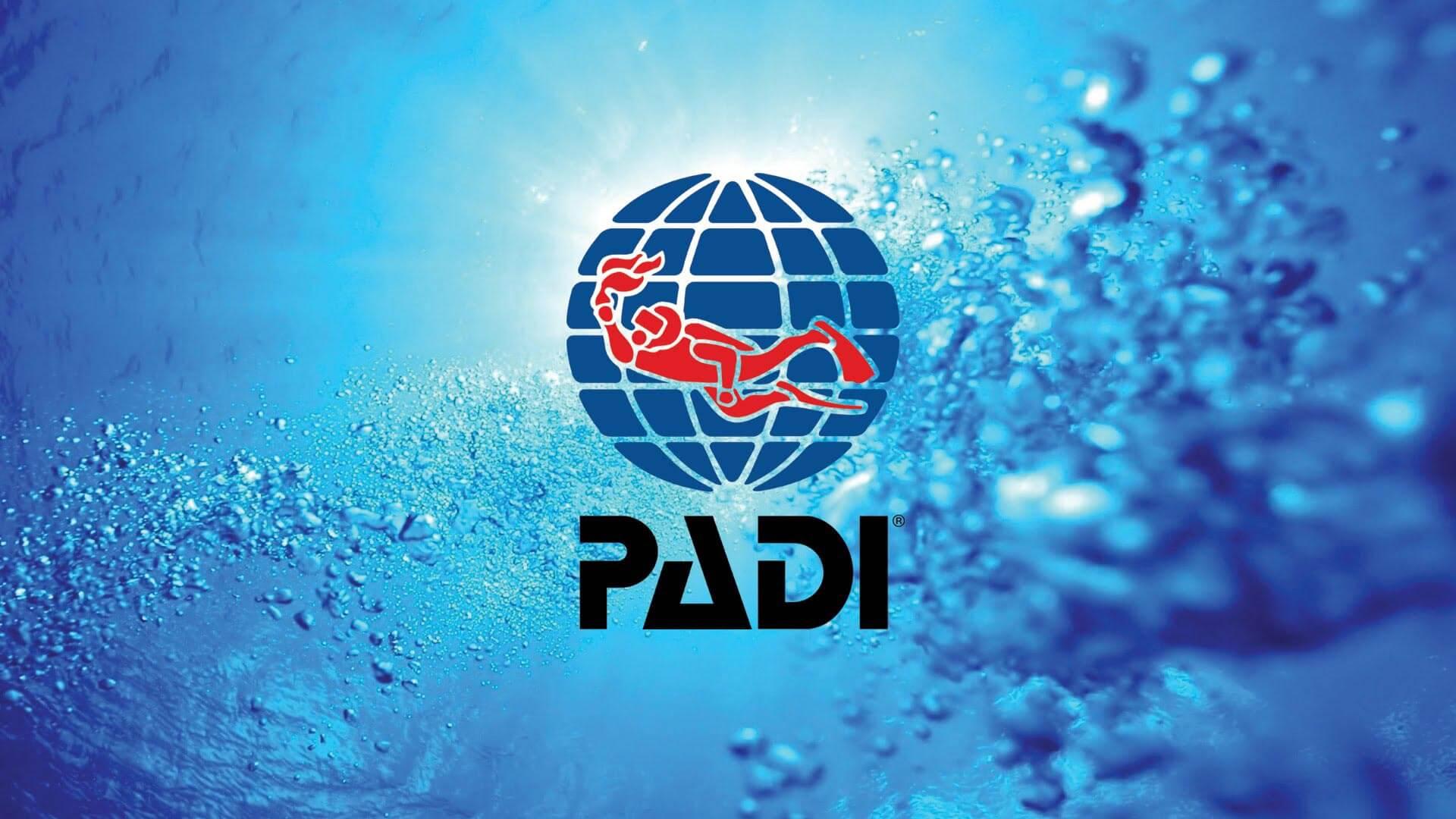 PADI logo bąbelki divers24.pl