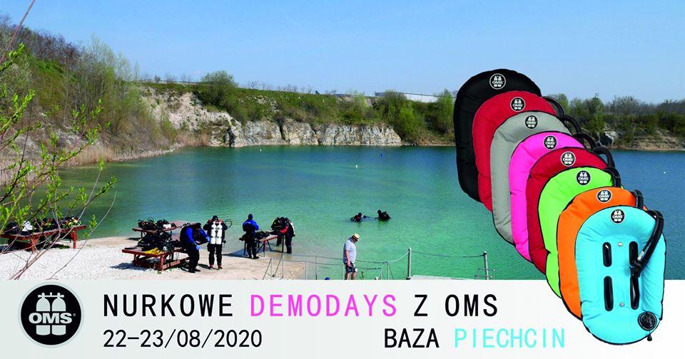 Kamieniołom Piechcin nurkowe Demo Days OMS divers24.pl