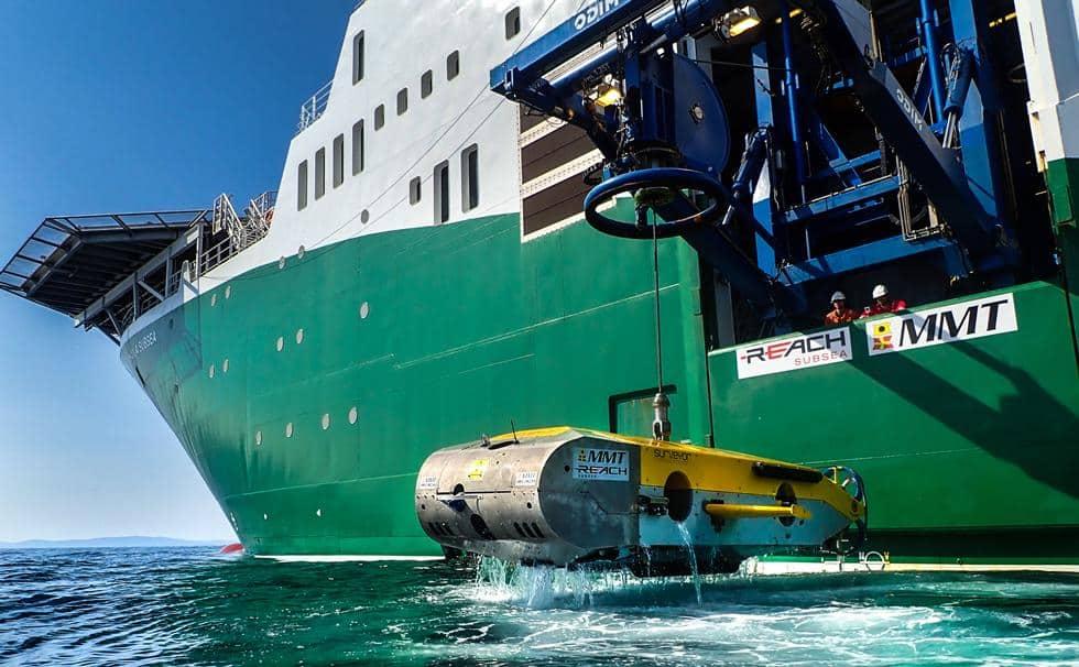 eksploracja wraku z użyciem robota ROV divers24.pl