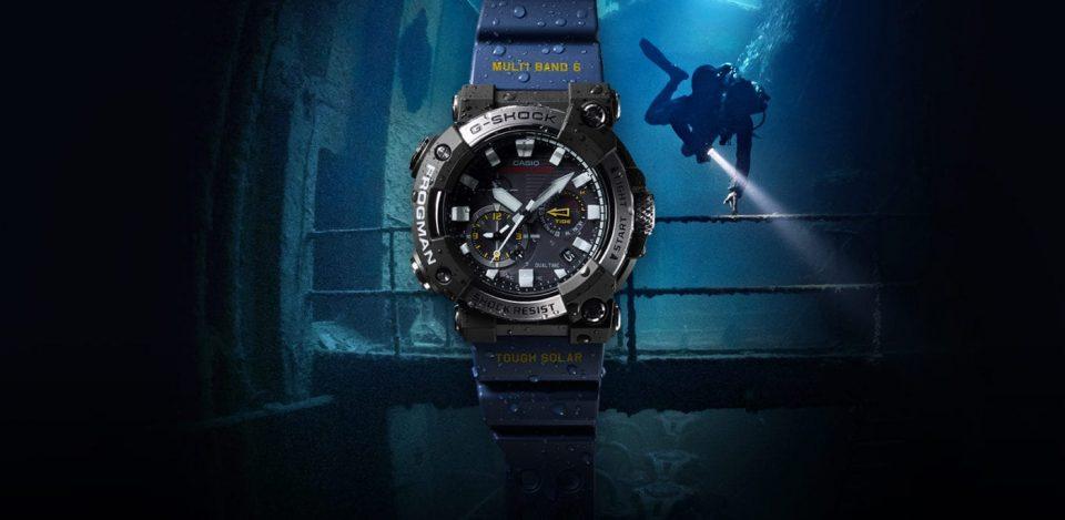 Zegarek G-Shock Frogmen nowy divers24.pl