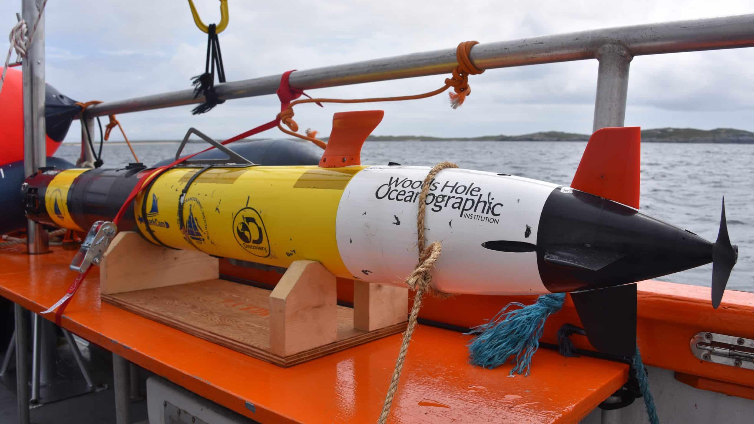 Urządzenie do filmowania rekinów w Szkocji divers24.pl