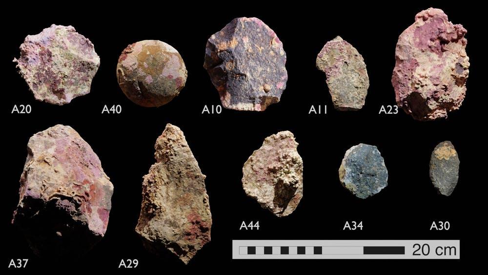 kamienne artefakty odnalezione w Australii divers24.pl