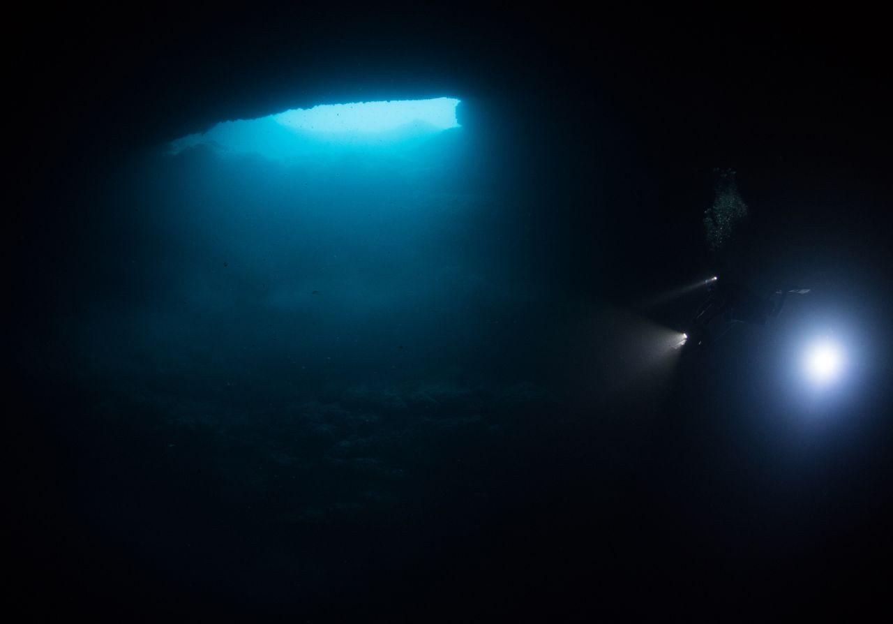 nowa cenota na Isla Mujeres Morze Karaibskie divers24.pl