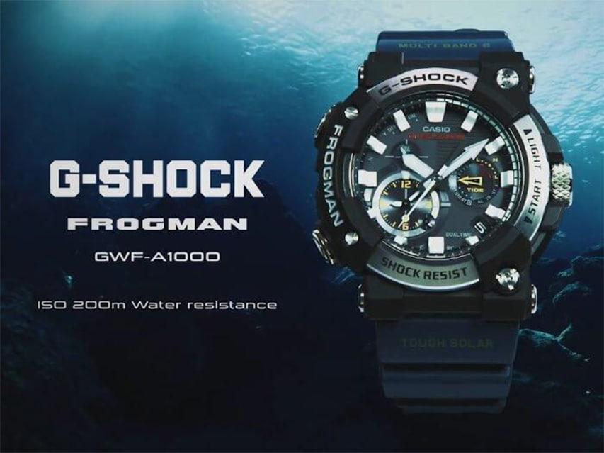 G-Shock Frogmen zegarek diver nurkowy divers24.pl