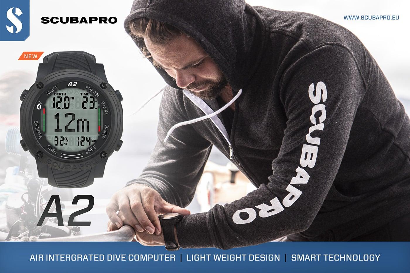 Scubapro Aladin A2 komputer nurkowy divers24.pl