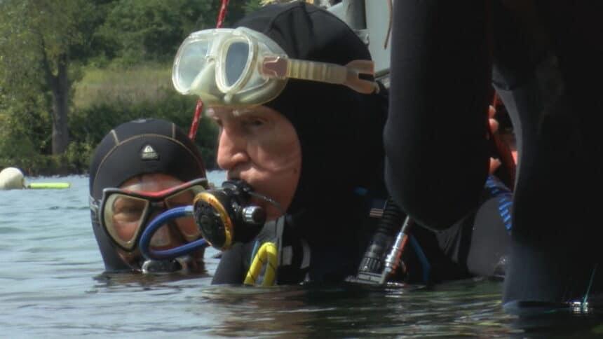 Bill Lambert najstarszy nurek na świecie divers24.pl
