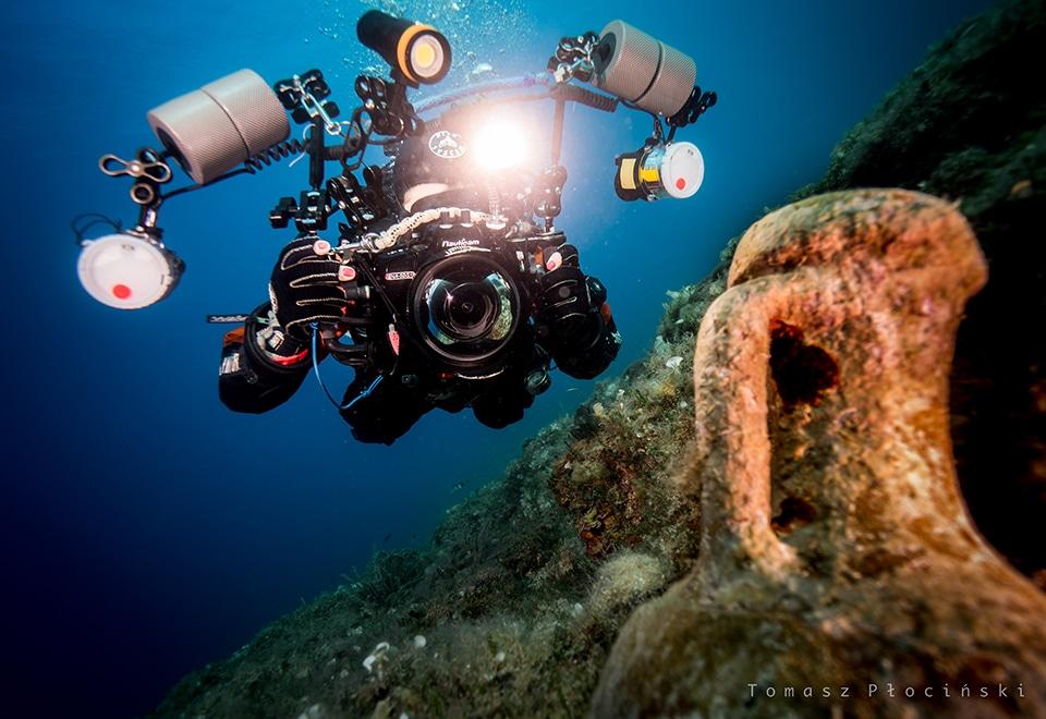 Zlot fotografów podwodnych nurek z amforą divers24.pl