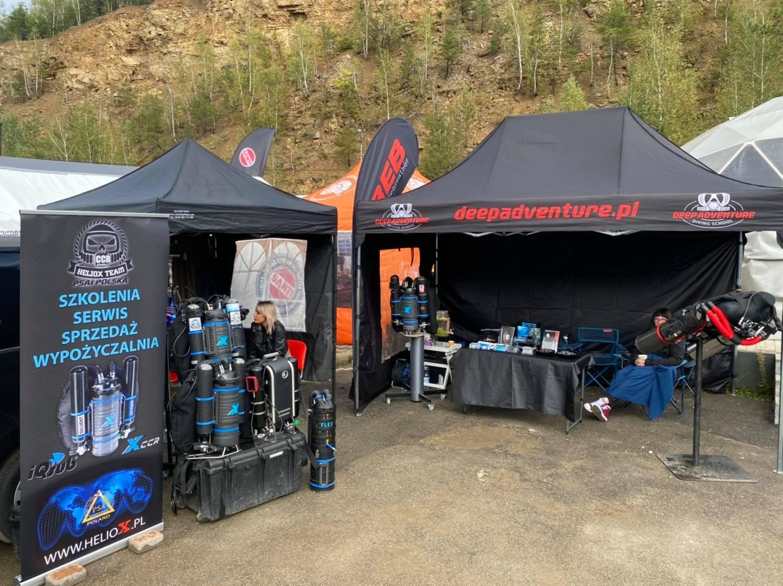 Namioty Heliox i Deep Adventure Demo Days 2020 Koparki divers24.pl