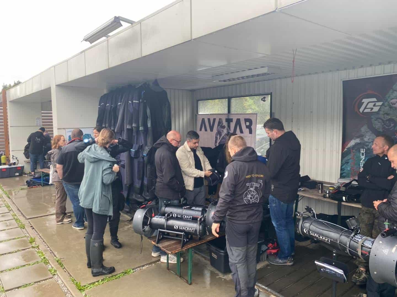 Skutery DPV Seacraft Demo Days Koparki 2020 divers24.pl