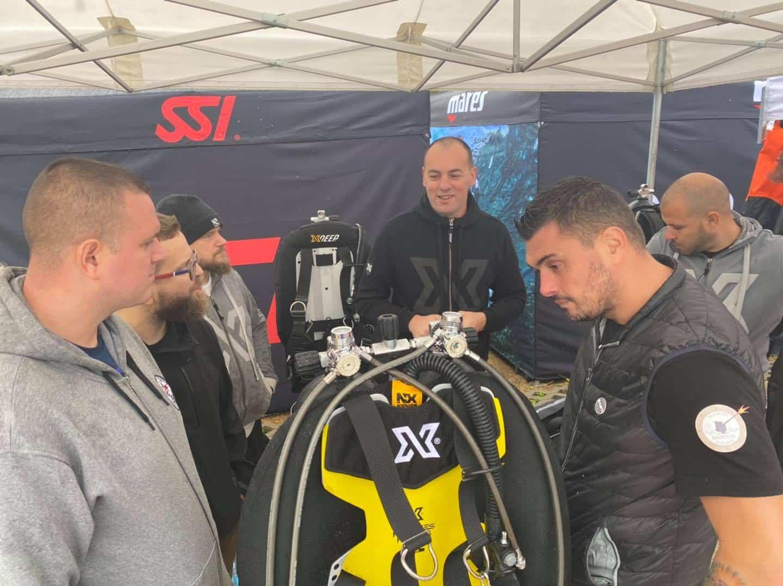 SSI BCD Xdeep demo days Koparki 2020 divers24.pl