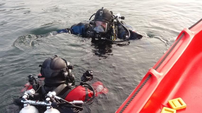 wypadek nurkowy kamieniołom Honoratka divers24.pl