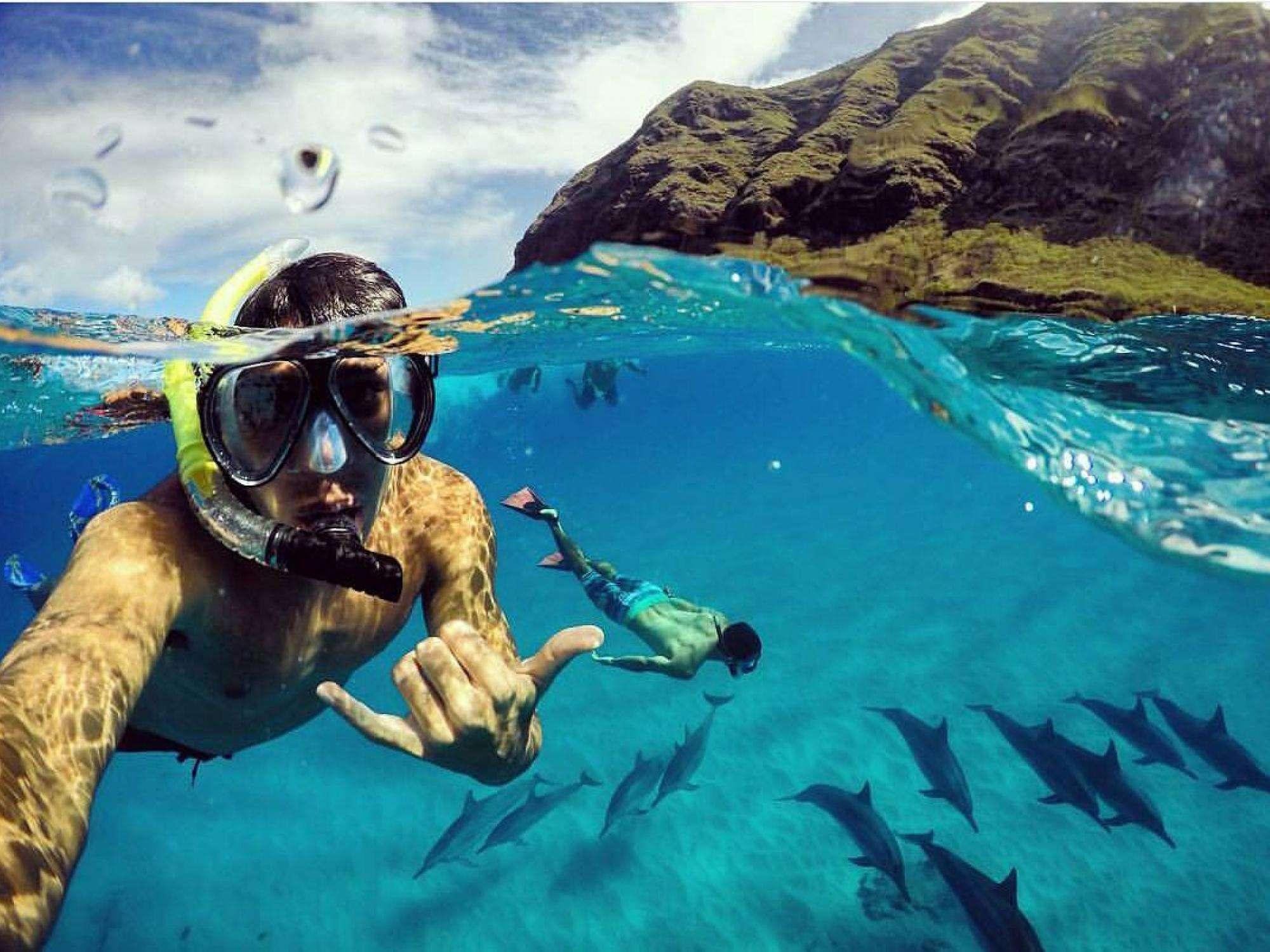 Pierwszy dzień podwodnego selfie PADI