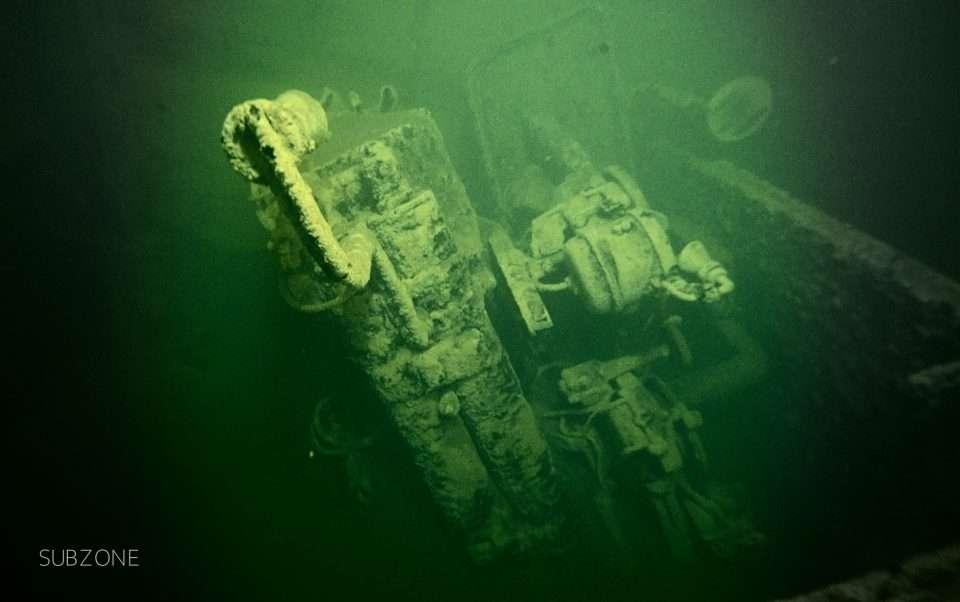 Wrak HMS Cassandra SubZone divers24.pl