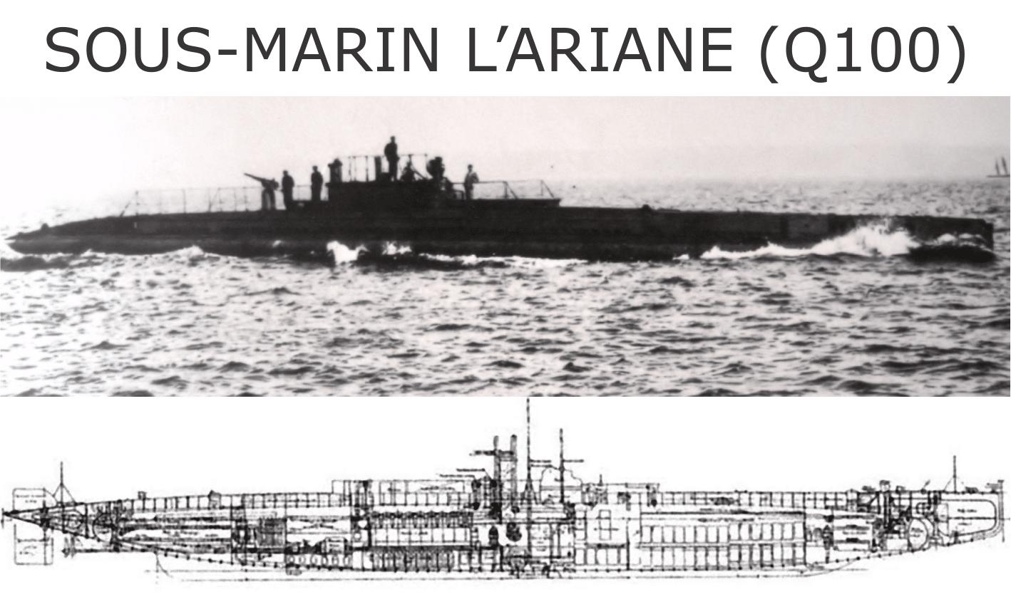 Zdjęcie archiwalne okręt Ariane