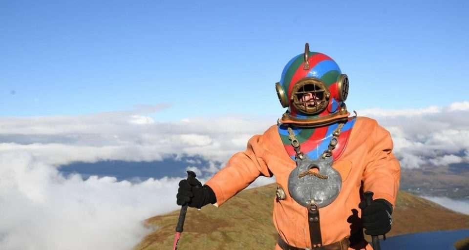 Lloyd Scott three peak ben nevis