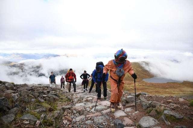 Lloyd Scott w drodze na szczyt