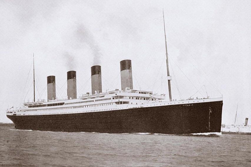 Historyczna fotografia RMS Titanic