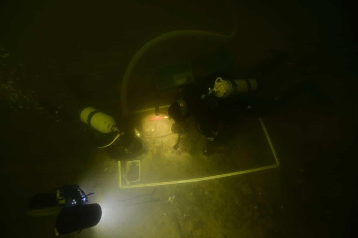 Stanowisko archeologiczne jezioro Oświe