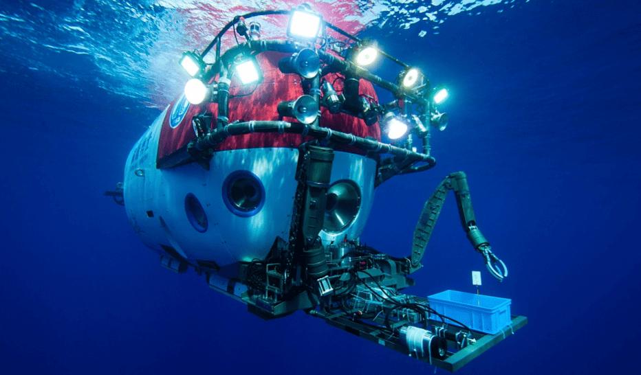 Załogowy pojazd podwodny z Chin