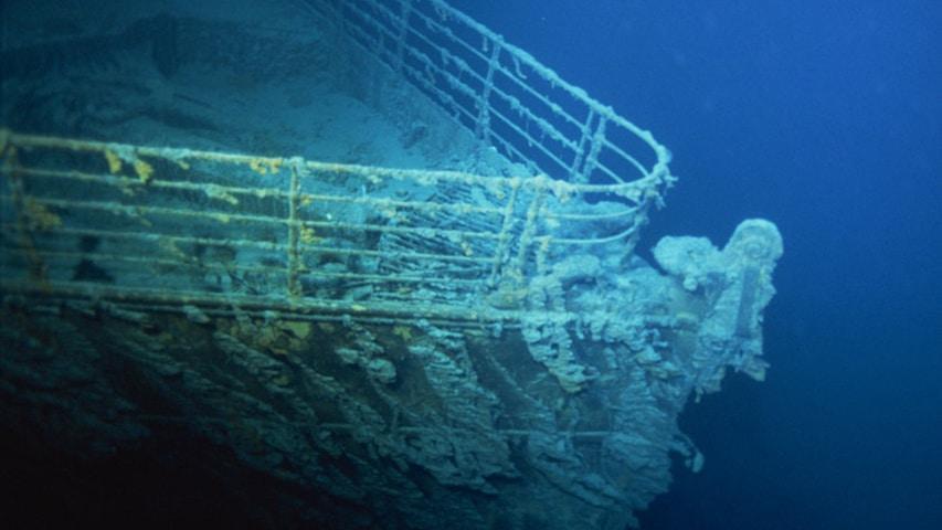 Wrak liniowca Titanic