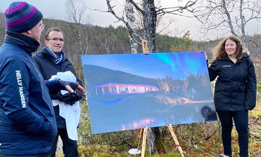 Prezentacja planów nowego resortu Visit Plura