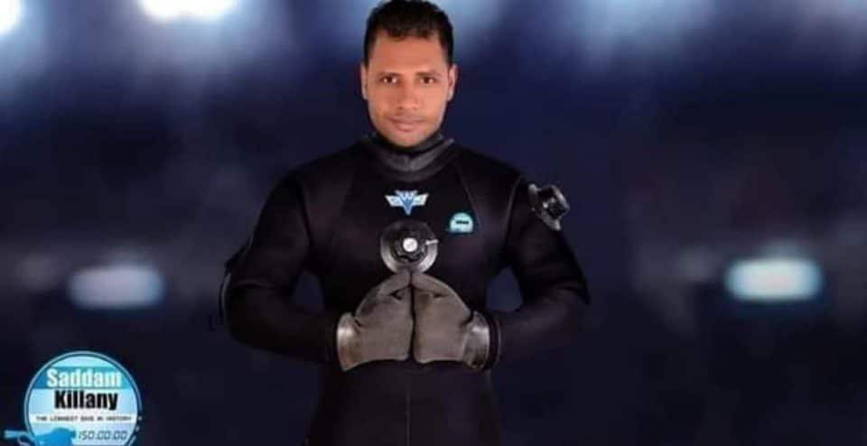Rekord Guinnessa najdłuższe nurkowanie Egipt