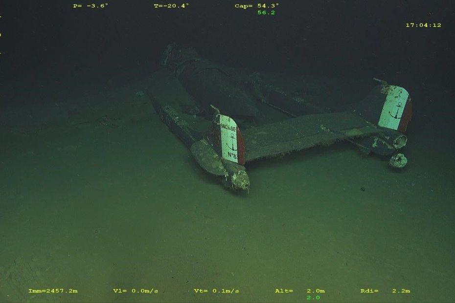 Zaginiony wrak odrzutowca SE.203 Aquilon