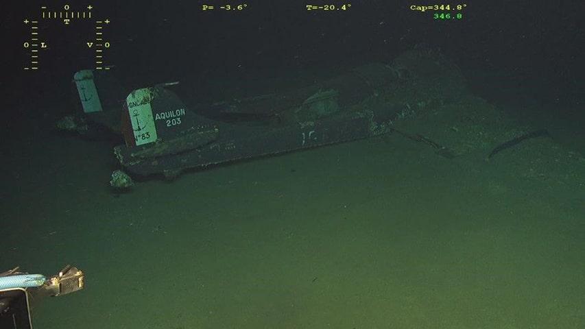 Odnaleziony wrak SE.203 Aquilon