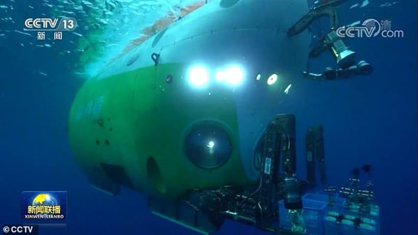 Chiny eksplorują Głębię Challengera