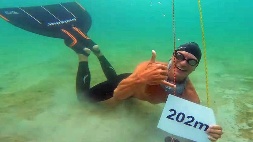 duński freediver Stig Severinsen