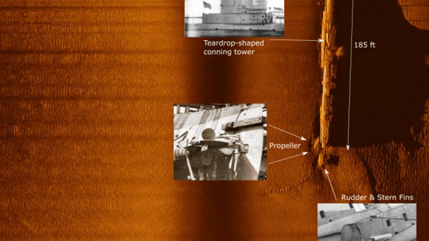 Dokumentacja wraku okrętu R8