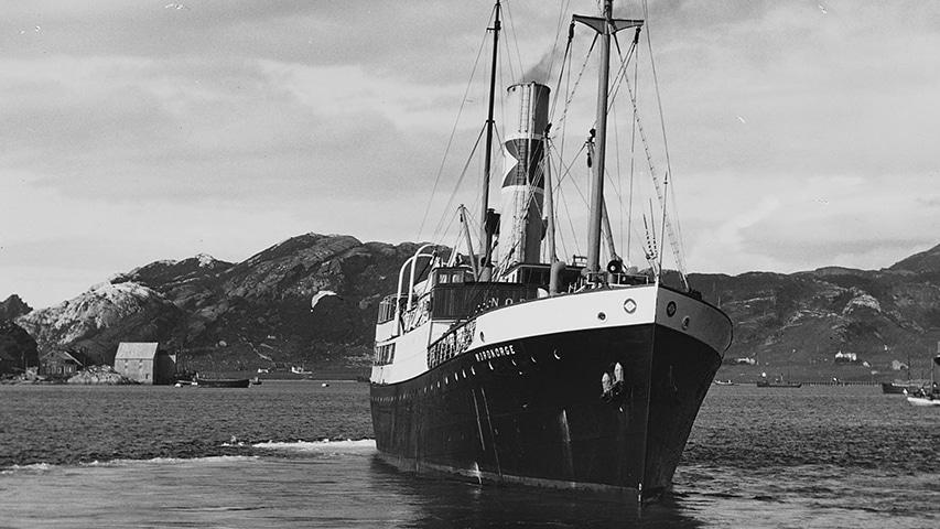 D/S Nordnorge norweski parowiec 1942 r.
