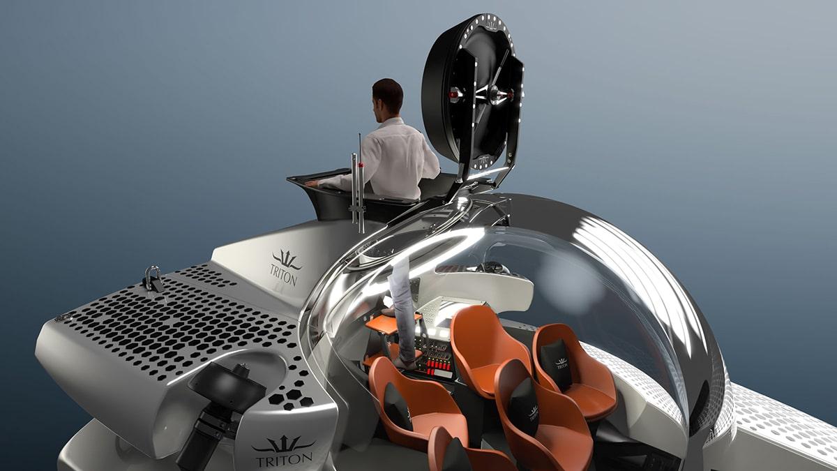 Triton Subs T3300 6 pojazd podwodny