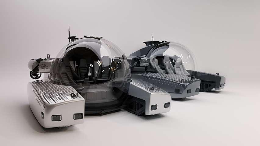 pojazd podwodny Triton Subs