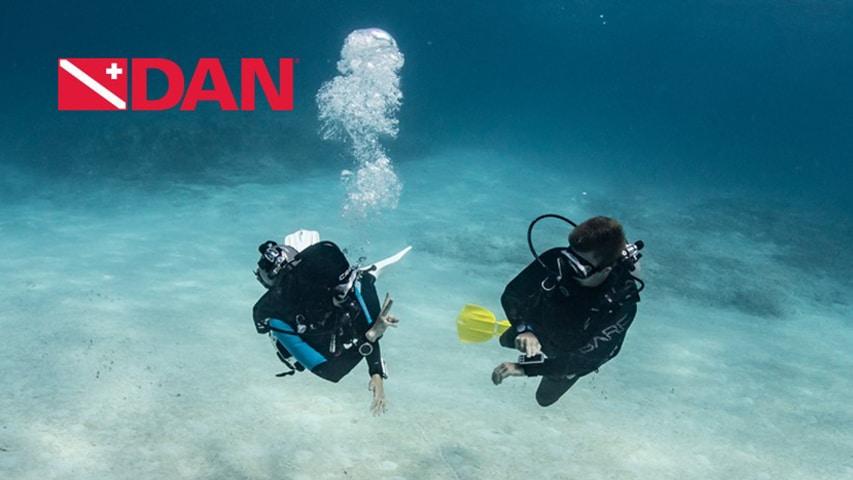 wykłady online Divers Alert Netork